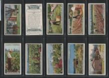 From Plantation to Smoker cigarette cards set 1926